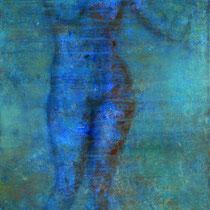 """""""Schwebende"""" - Öl auf Leinwand 60 x 50 cm, 2019"""