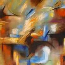 """""""Afrika"""" - Öl auf Leinwand 120 x 100 cm, 2011"""