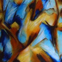 """""""ohne Titel"""" - Öl auf Leinwand 150 x 100 cm, 2008"""