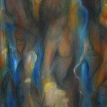 """""""Ansichtssache"""" - Öl auf Leinwand 130 x 100 cm, 2020"""