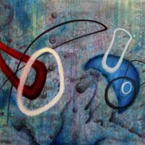 """""""Wasserspiel"""" - Öl auf Leinwand 100 x 140 cm, 2018"""