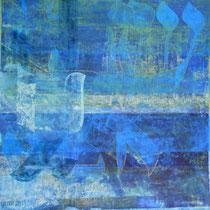 acrylique et feutres sur papier, 50 x 50 cm, 2013
