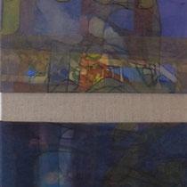 acrylique et feutres sur toile, 150 x 30 cm, 2012 | vendu