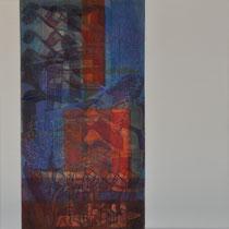 aacrylique et feutres sur toile, 50 x 50 cm, 2011