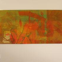 acrylique et feutres sur toile, 50 x 50 cm, 2014 | fr 900