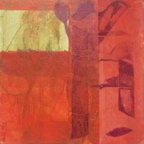acrylique et feutres sur toile, 30 x 30 cm, 2014 | vendu