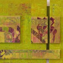 acrylique mixte sur papier, 38 x 58 cm, 2012