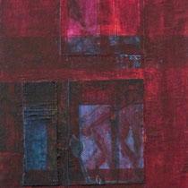 acrylique mixte sur toile, 80 x 30 cm, 2012