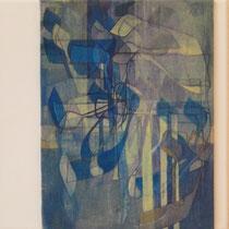 acrylique et feutres sur toile, 30 x 30 cm, 2012