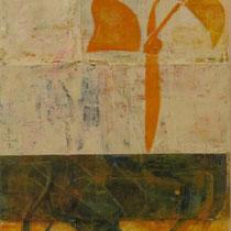 acrylique mixte sur toile, 50 x 20 cm, 2012 | vendu