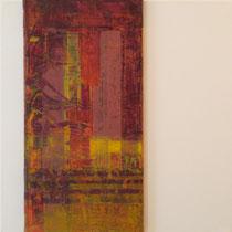 acrylique et feutres sur toile, 50 x 50 cm, 2011