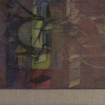 acrylique et feutres sur toile, 150 x 30 cm, 2012 | fr 2'500