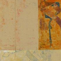 acrylique mixte sur toile, 90 x 30 cm, 2012