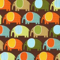 Elefanten braun