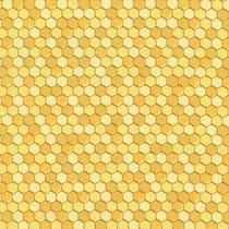 Honeycomb Geo Yellow