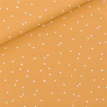 Snow Dots - Honey Yellow