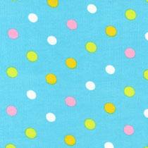 Pastel Dots aqua