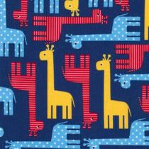 Giraffen blau