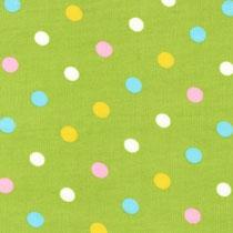 Pastel Dots lime