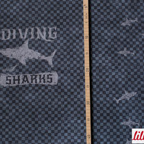 Diving with Sharks 55cm