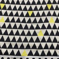 Dreiecke mit gelb