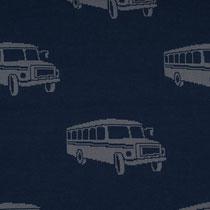 Bus jeansblau