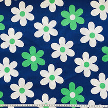 grün auf blau
