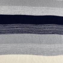 Streifen blau/grau