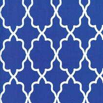 moroccan lattice cobalt