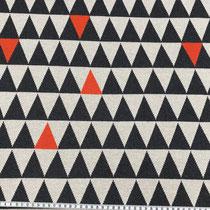 Dreiecke mit rot