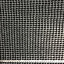 Hahnentritt schwarz/grau