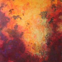 """""""Rausch"""" Acryl auf Leinwand, 150 x 120cm, 11/2013"""