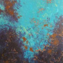 """""""Sog"""" Acryl auf Leinwand, 120 x 90cm, 09/2013"""