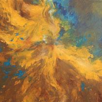 """Sturm"" Acryl auf Leinwand, 90 x 120cm, 09/2013"