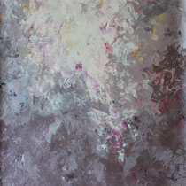 """Magnolie"" Acrylmalerei, 100 x 70cm, 06/2015"