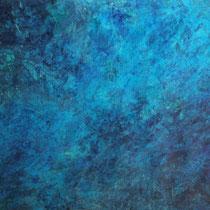 """Meer"" Acrylmalerei, 70 x 100cm, 09/2013"