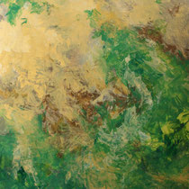 """Wirbel"" Acrylmalerei, 100 x 70cm, 09/2013"