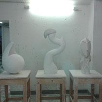 Präsentation Bildhauerei – 2012
