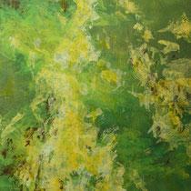 """Wald"" Acrylmalerei, 100 x 70cm, 09/2013"
