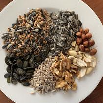 Kerne und Körner für Körnerfresser, Foto: schlaubatz