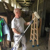 Renovierung im Rennstall Angeramnn