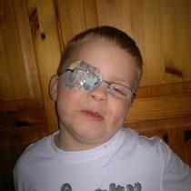 Kay mit seiner ganz neuen Brille 2013