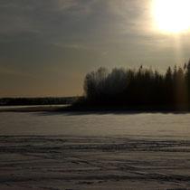Erleben Sie vielfältige Winterstimmungen am großen See ...