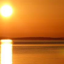 Sunny Mökki Sysmä. Feurige Sonnenuntergänge inklusive!