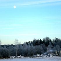 Verzauberte Vollmondnächte im Schnee erleben.