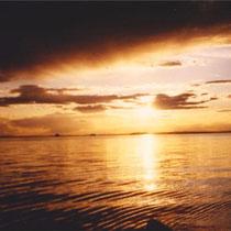 Unendlich scheinende Weite und grandioses Panorama auf dem riesigen See mit dem Boot erleben.