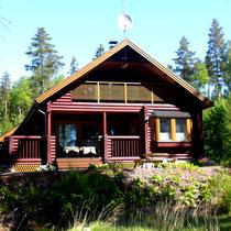 Das Sunny Mökki Sysmä: immer für eine sonnige, komfortable Auszeit gut.