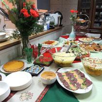 EuroLingualクリスマスパーティー2012 料理③