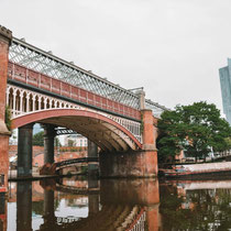Manchester-Castlefield channels