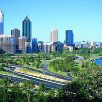 Perth-Panoramic from Kings Park